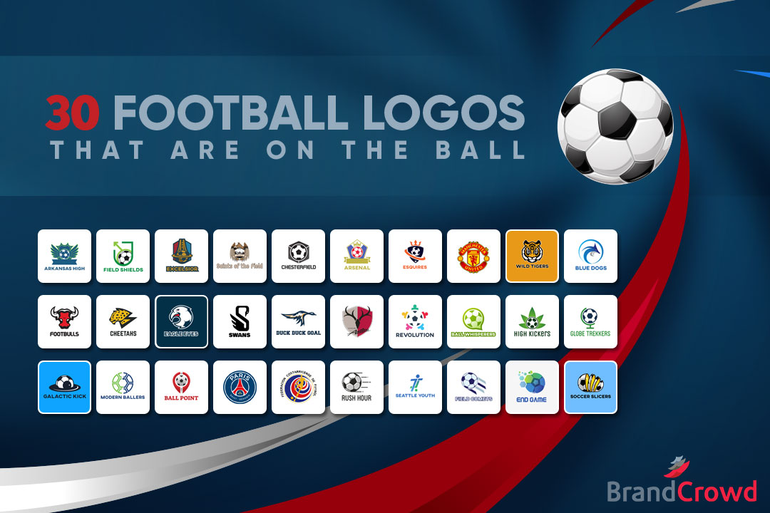 30 Football Logos That Are on the Ball - Featured-Image - BrandCrowd
