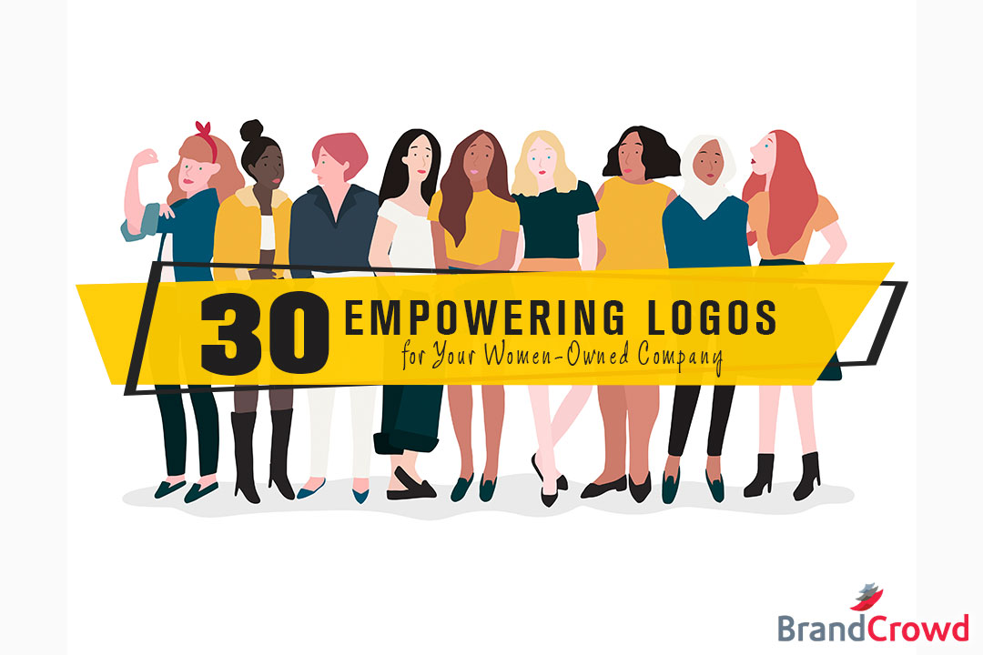 30 Empowering Logos for Your Women-Owned Company - Header Image - BrandCrowd