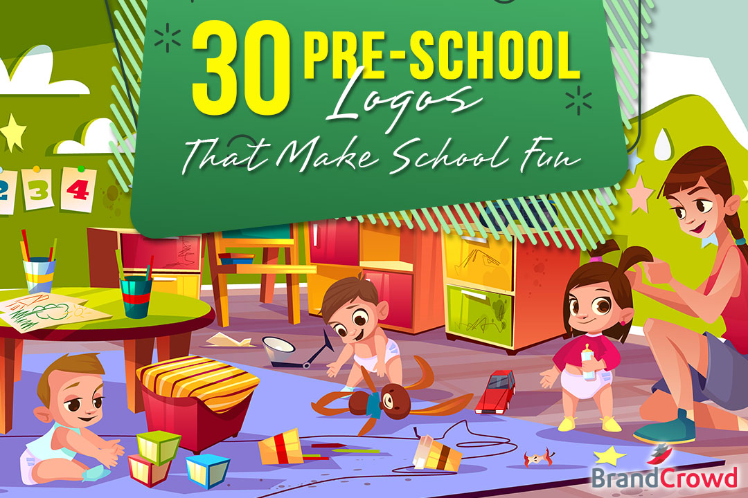 Header Image - 30 Pre-School Logos That Make School Fun - BrandCrowd Blog