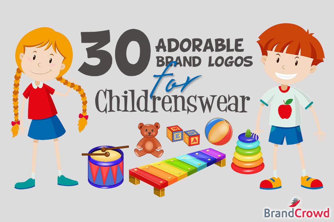 30 Adorable Brand Logos for Childrenswear - Header Image - BrandCrowd
