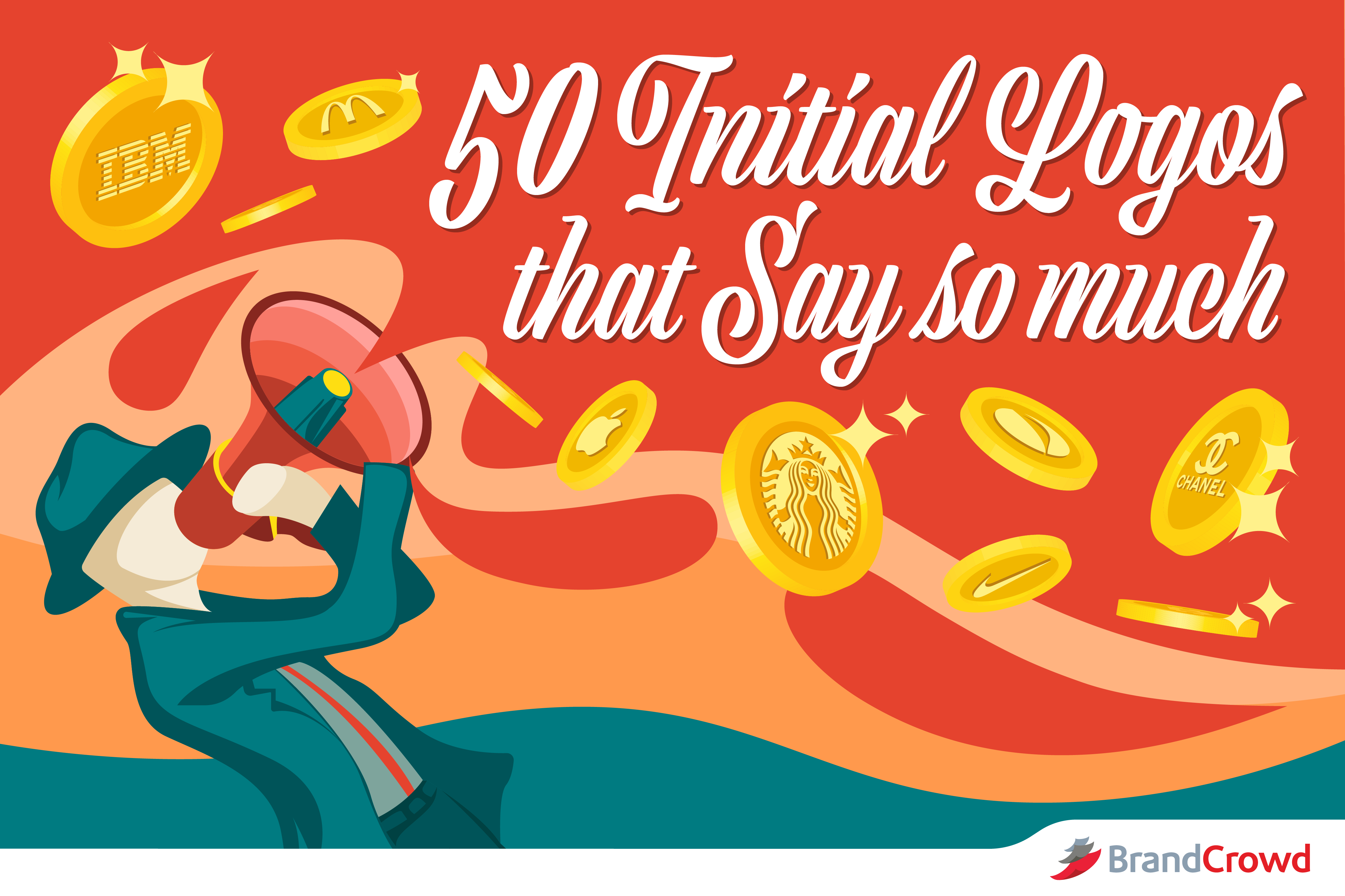 50 Initial Logos That Say So Much - BrandCrowd Blog