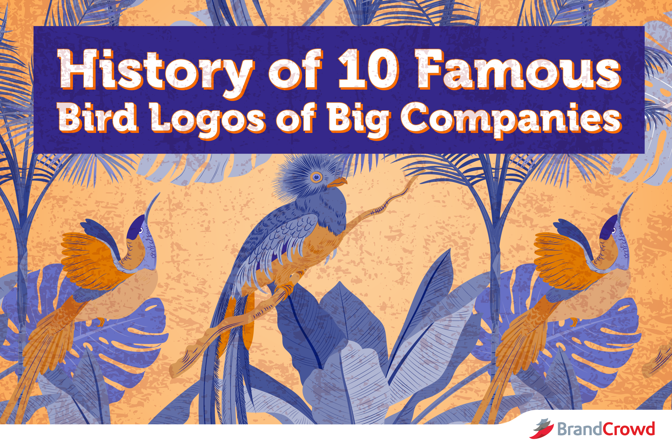 History of 10 Famous Bird Logos of Big Companies - BrandCrowd Blog
