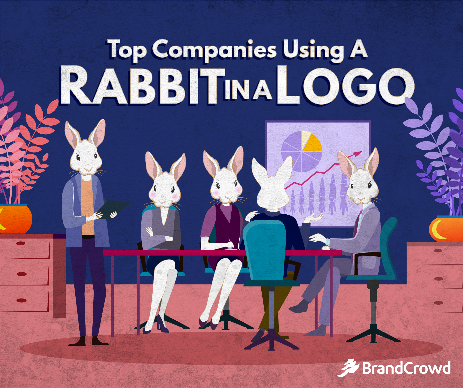 Top Companies Using a Rabbit in a Logo