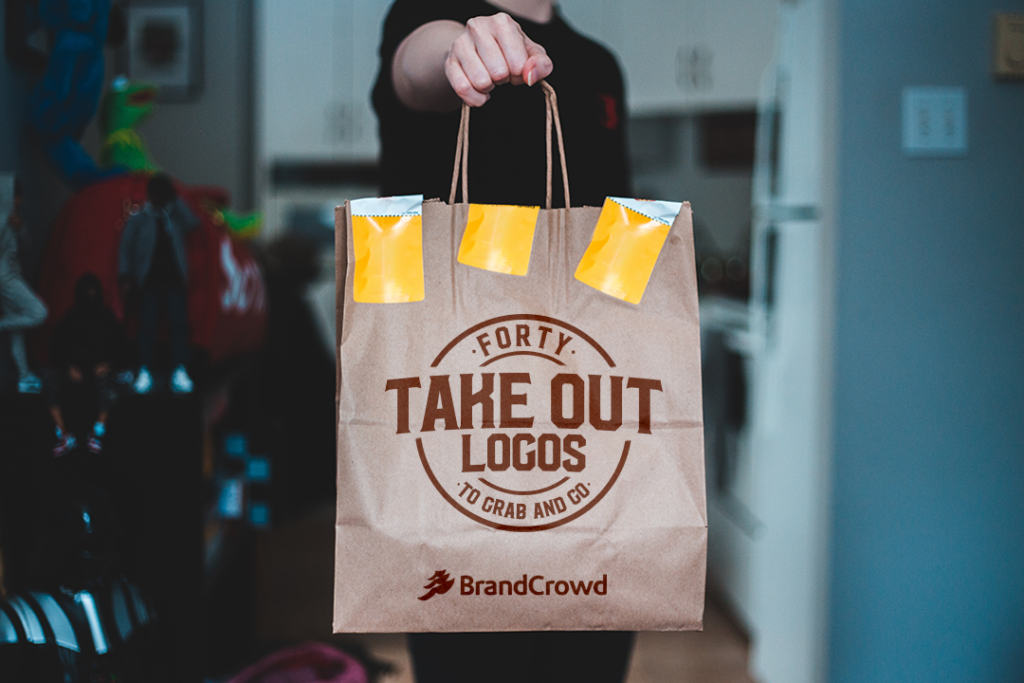 40 Take Out Logos to Grab and Go