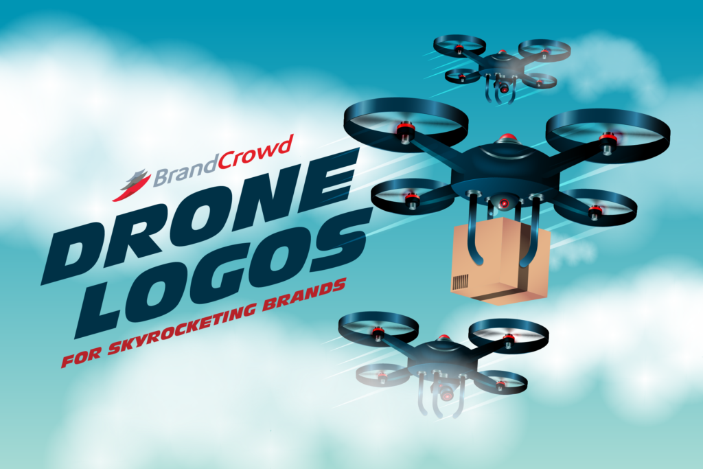 50 Drone Logos For Skyrocketing Brands