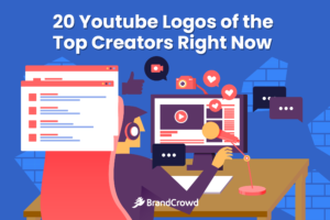 20 Youtube Logos of the Top Creators Right Now