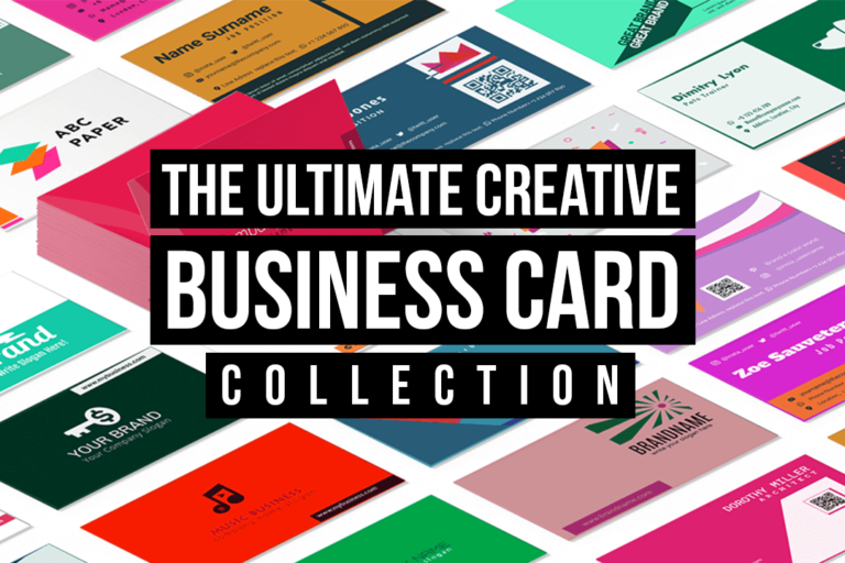 The Ultimate Creative Business Cards Collection