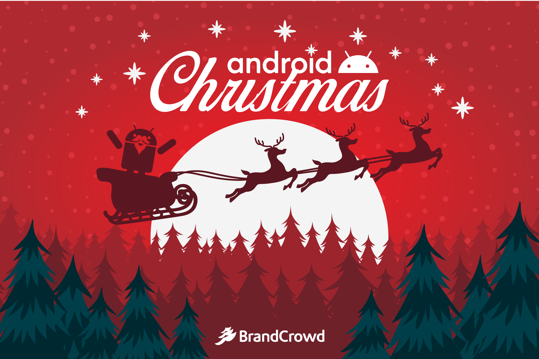 the-header-contains-a-silhouette-of-santa-claus-and-reindeers-riding-over-a-scenery