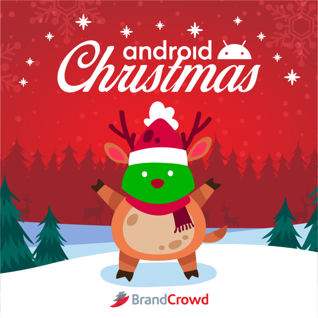 the-bugdroid-is-wearing-a-reindeer-costume-with-a-red-nose