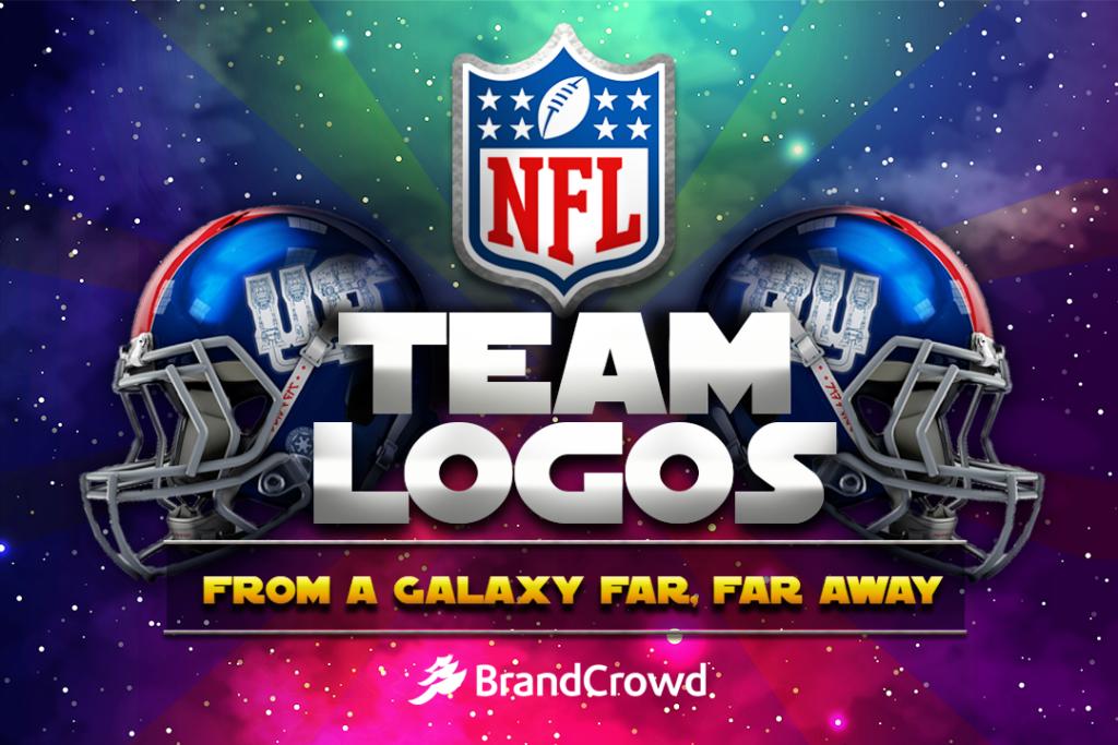 NFL Team Logos from a Galaxy Far, Far Away