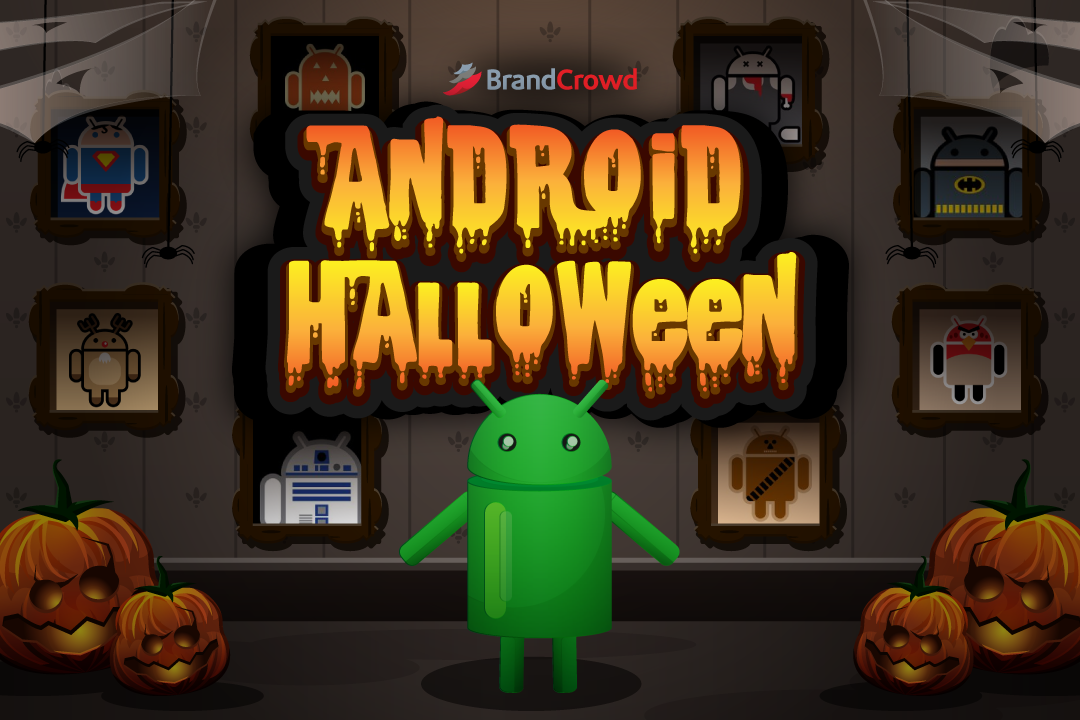 the-blog-header-features-the-plain-looking-bugdroid-with-photos-of-halloween-costumes-with-the-blog-typography-at-the-upper-region