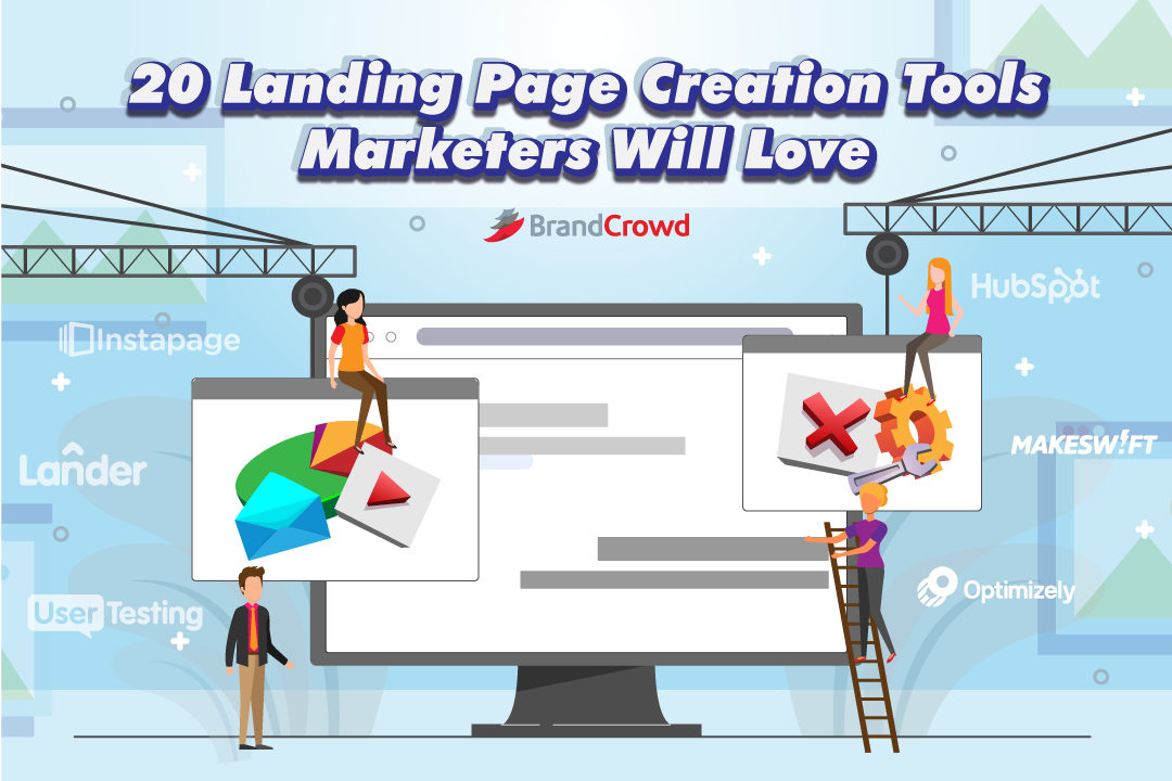 the-blog-header-features-marketing-professionals-working-to-build-a-landing-page-the-title-typography-is-located-in-the-upper-region-of-the-photo