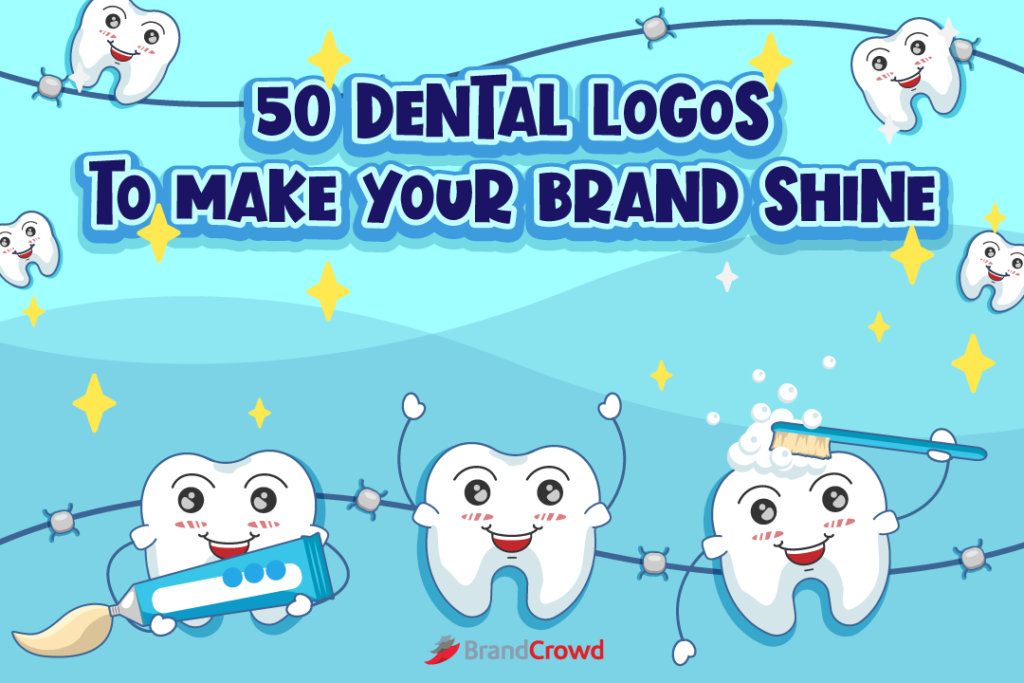 50 Dental Logos to Make Your Brand Shine