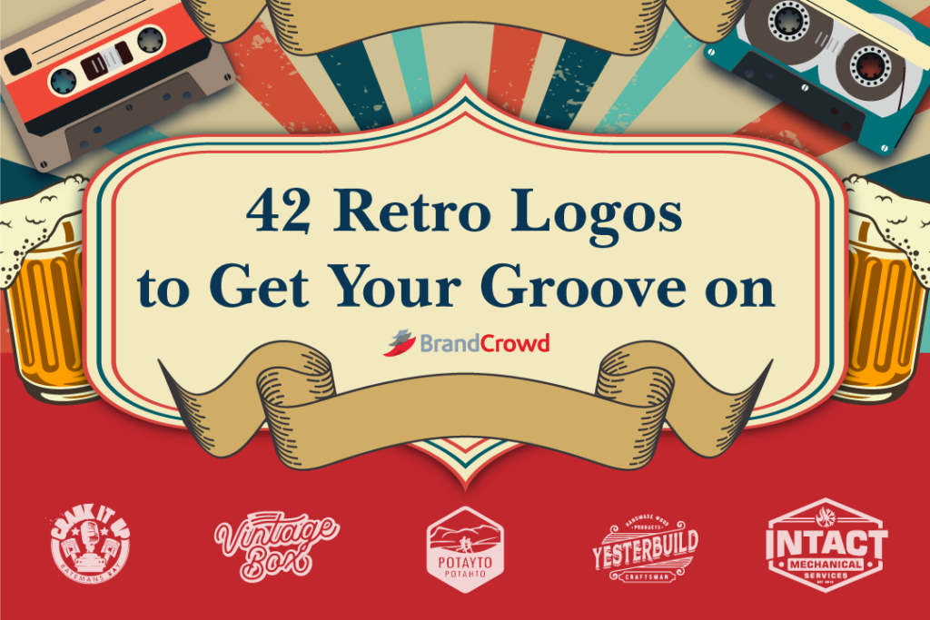 42 Retro Logos to Get Your Groove on