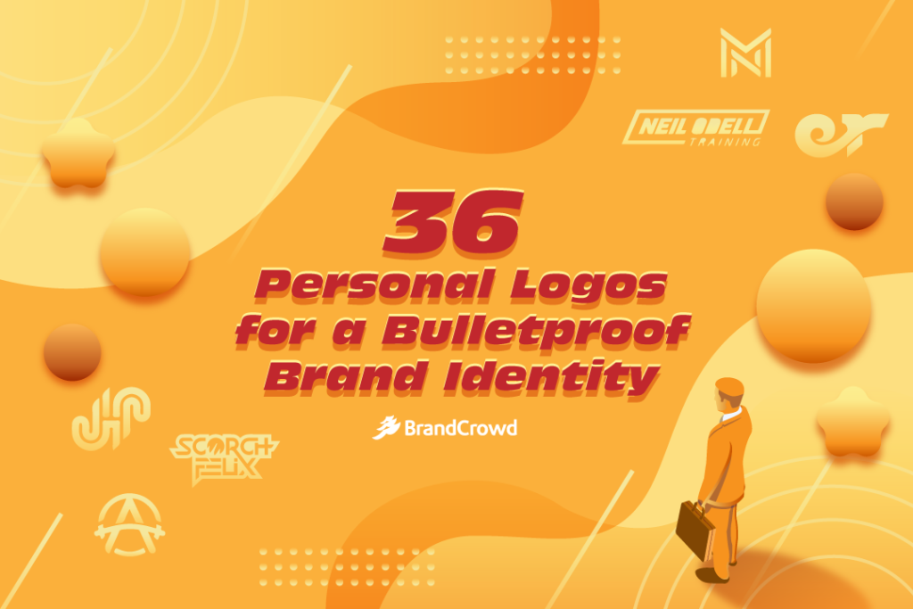 36 Personal Logos for a Bulletproof Brand Identity