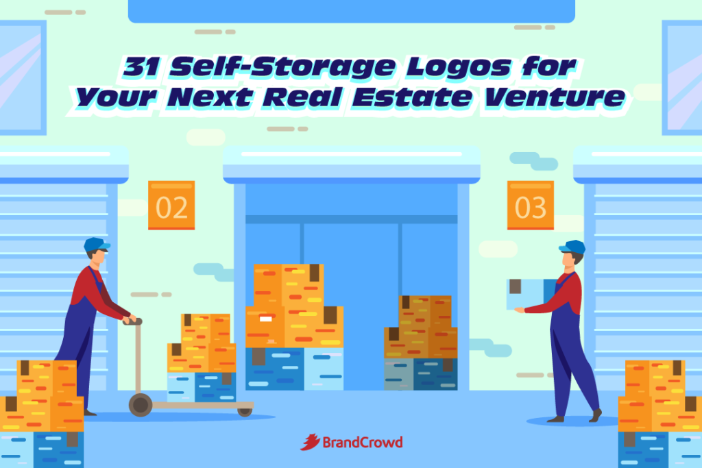 31 Self-Storage Logos for Your Next Real Estate Venture