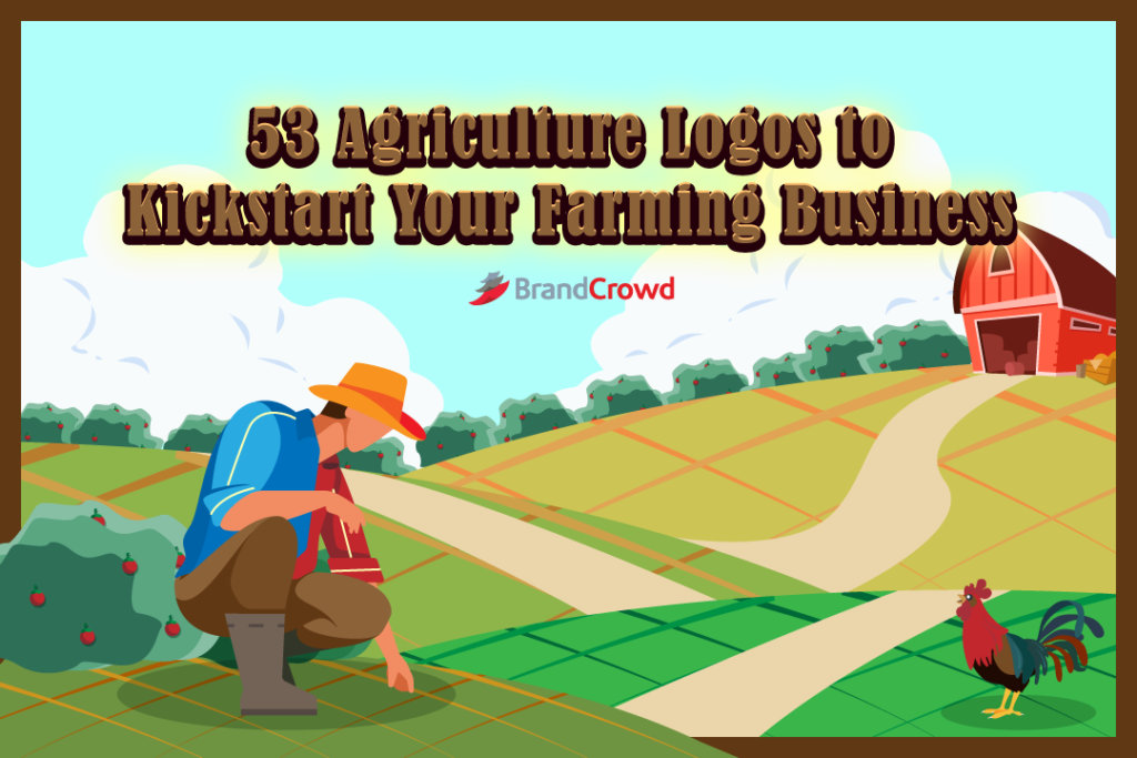 53 Agriculture Logos to Kickstart Your Farming Business
