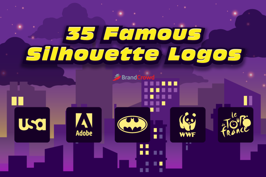 35 Famous Silhouette Logos