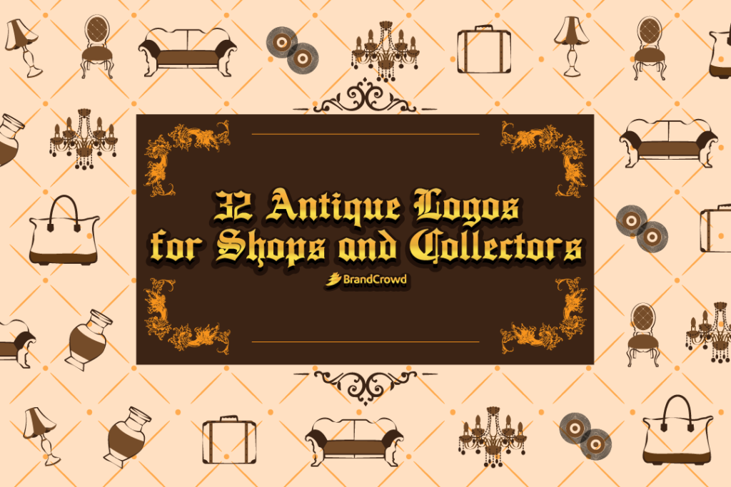 32 Antique Logos for Shops and Collectors
