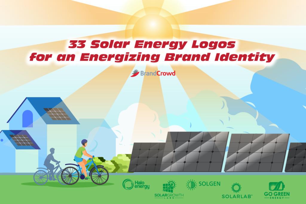 33 Solar Energy Logos for an Energizing Brand Identity