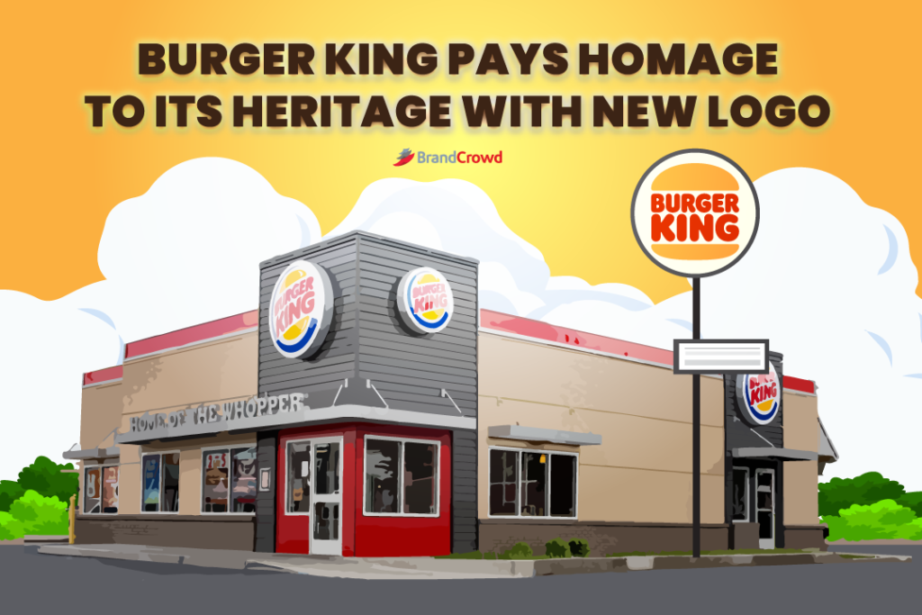 Burger King Pays Homage to Its Heritage With New Logo