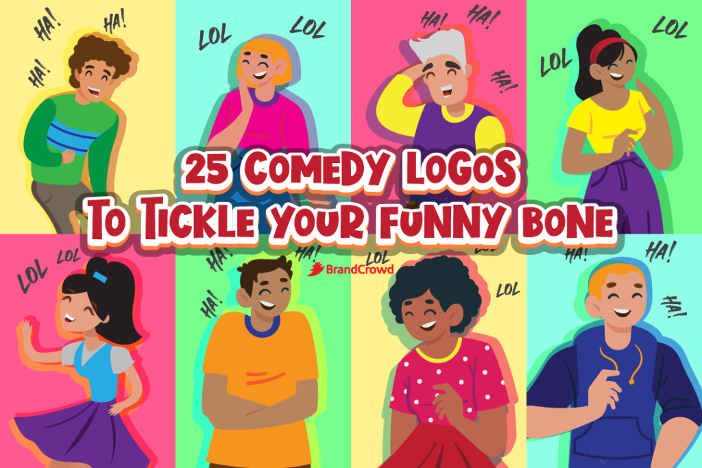 25 Comedy Logos to Tickle Your Funny Bone