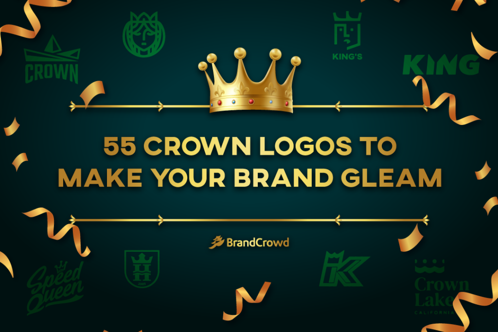 55 Crown Logos To Make Your Brand Gleam