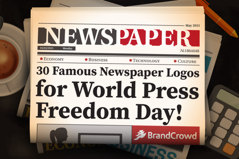 30 Famous Newspaper Logos for World Press Freedom Day