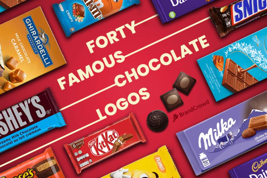 40 Famous Chocolate Logos