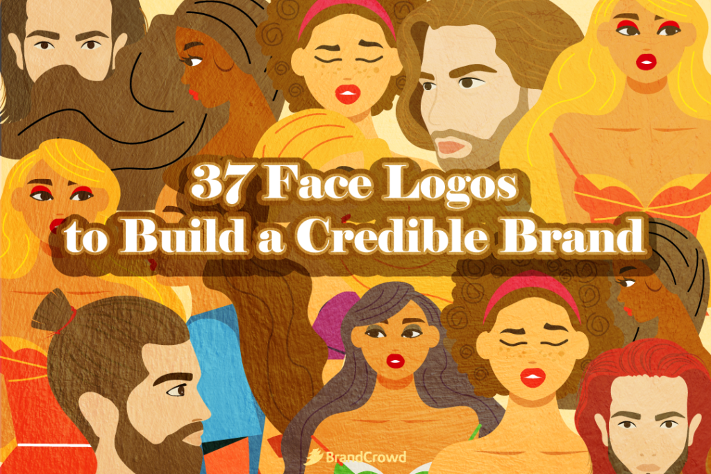 37 Face Logos to Build a Credible Brand