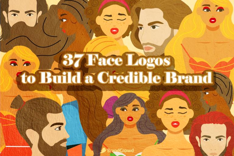 37 Face Logos to Build a Credible Brand