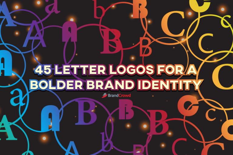 45 Letter Logos for a Bolder Brand Identity