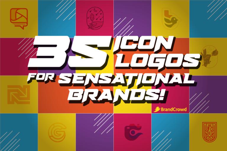 35 Icon Logos for Sensational Brands