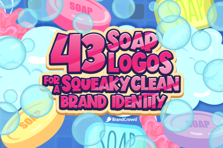 43 Soap Logos for a Squeaky Clean Brand Identity