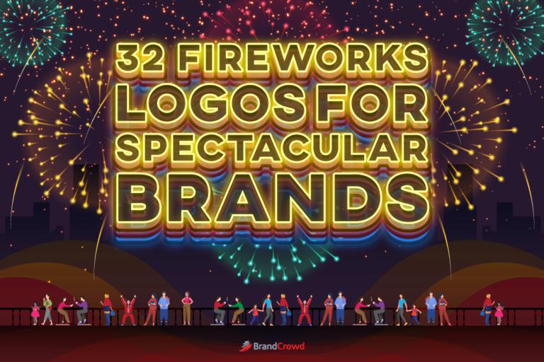 32 Fireworks Logos for Spectacular Brands