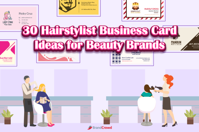 30 Hairstylist Business Card Ideas for Beauty Brands