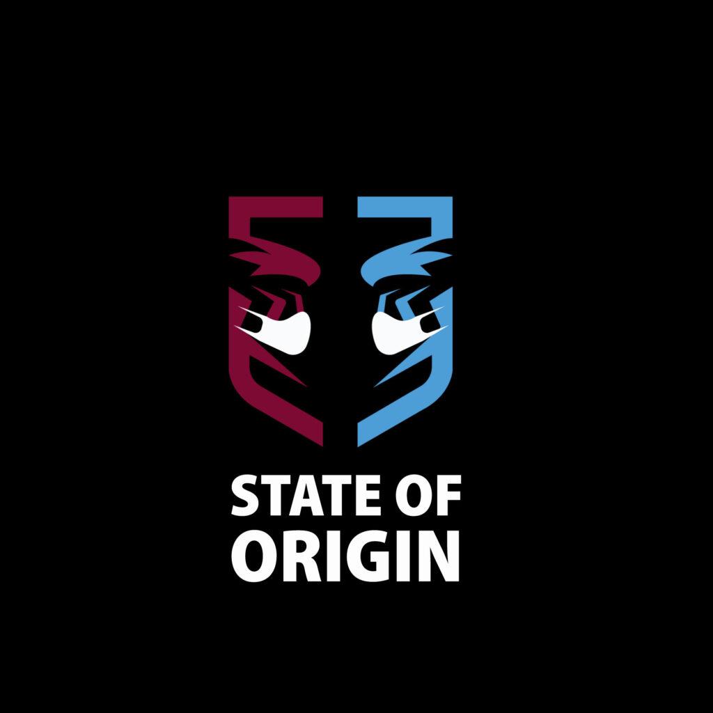 State of Origin Logo by Filipino
