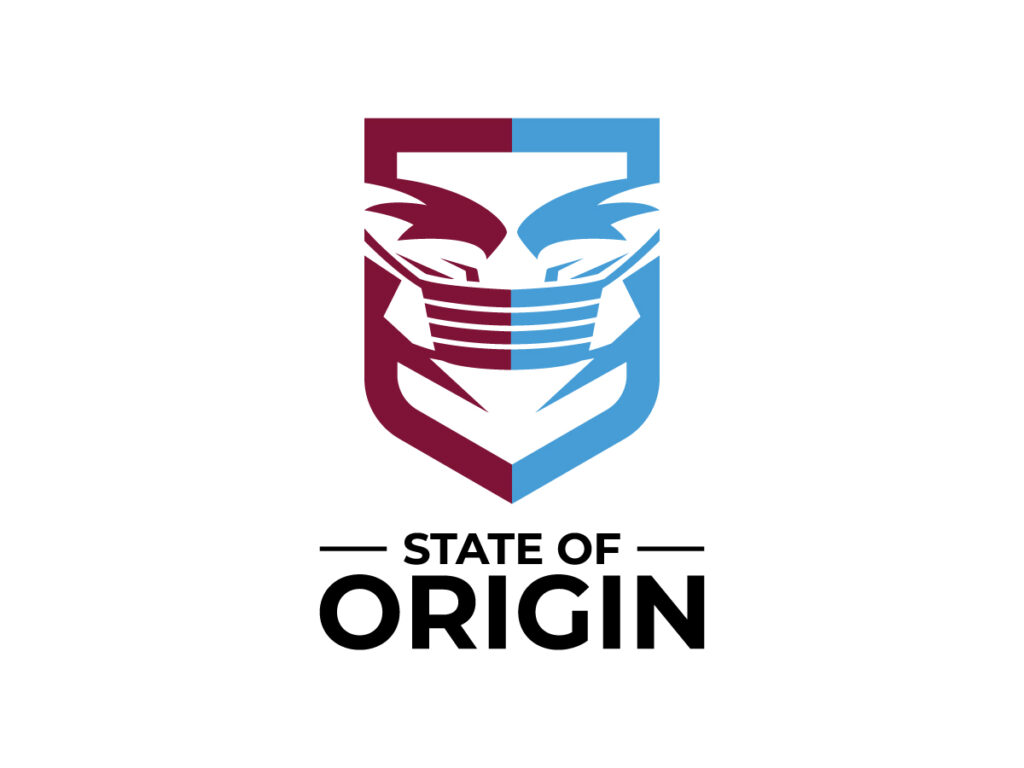 State of Origin Logo by Qahaj Studios