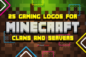 25 Gaming Logos for Minecraft Clans and Servers