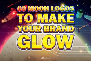 60 Moon Logos to Make Your Brand Glow