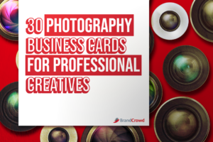 30 Photography Business Cards for Professional Creatives