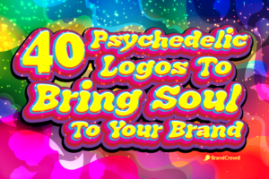 40 Psychedelic Logos To Bring Soul To Your Brand