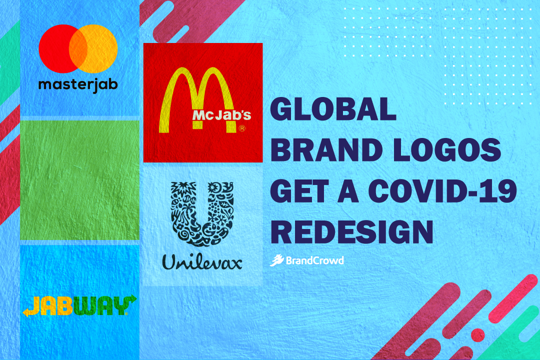 Global Brand Logos Get a COVID redesign