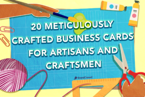 20 Meticulously Crafted Business Cards For Artisans and Craftsmen