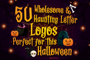 50 Wholesome and Haunting Letter Logos Perfect for This Halloween